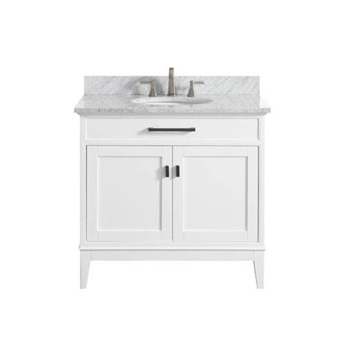 251 First Whittier White 37 Inch Vanity Combo