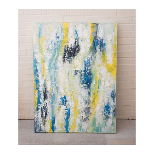 251 First Grace Painted Sky Original Painting on Canvas