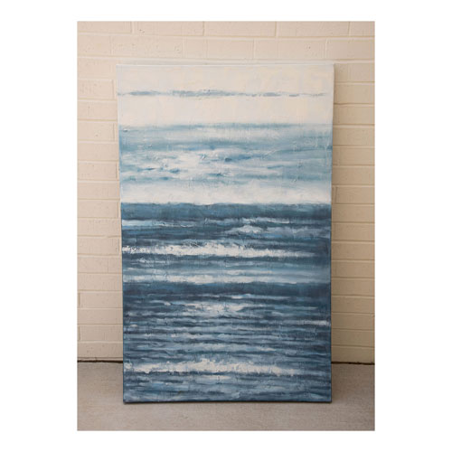 Grace Blue Tide Original painting on Gallery Wrapped Canvas