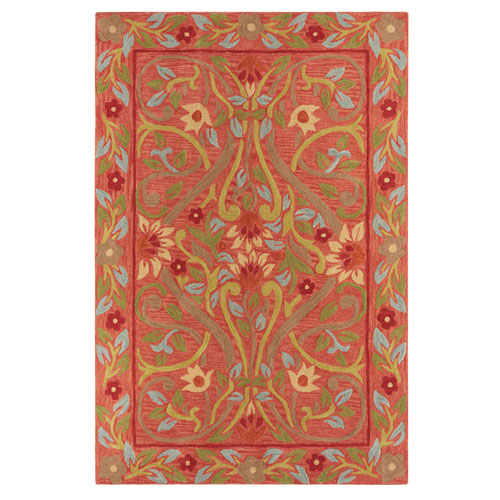 Hayden Red Rectangular: 2 Ft. x 3 Ft. Rug