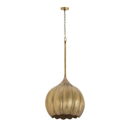 Selby Gold 20-Inch One-Light Pendant