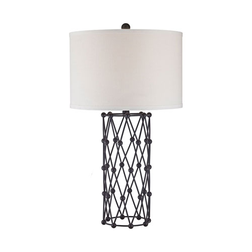 Afton Bronze One-Light Table Lamp
