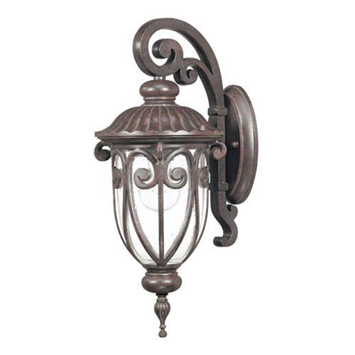 251 First Wellington Bronze 18-Inch One-Light Outdoor Wall Sconce