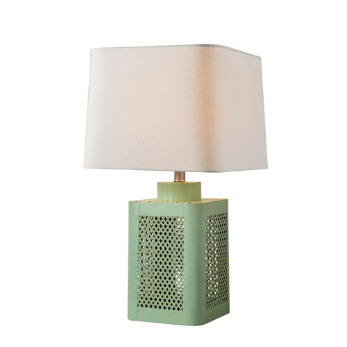 Grace Antique Green One-Light Table Lamp