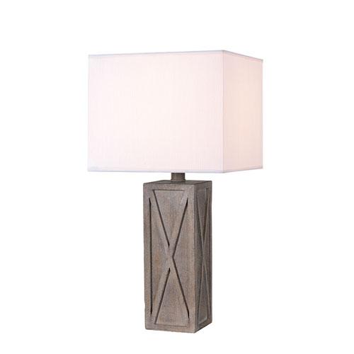 Afton Wood On-Light Table Lamp