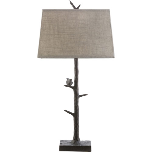 251 First Hayden Bronze One-Light Table Lamp
