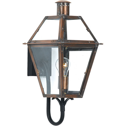 Webster Aged Copper One-Light Outdoor Wall Sconce