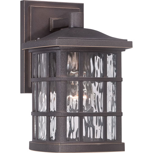 251 First Hayden Bronze 11-Inch One-Light Outdoor Wall Sconce