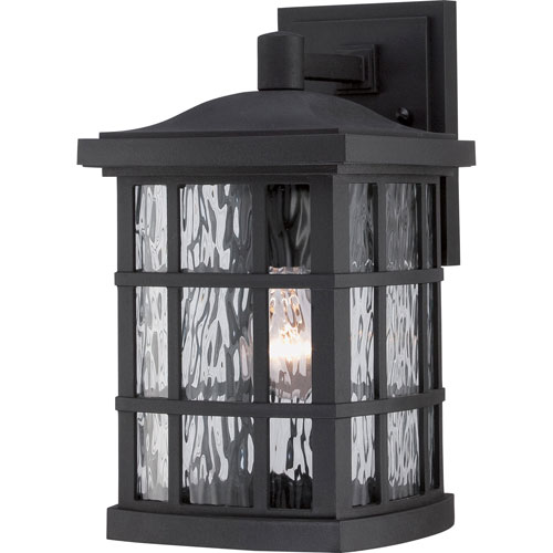 251 First Hayden Black 13-Inch One-Light Outdoor Wall Sconce