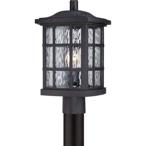 251 First Hayden Black One-Light Outdoor Post Mount