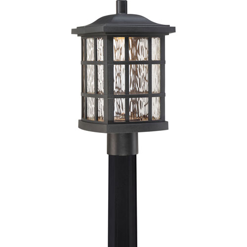 Hayden Black LED Outdoor Post Mount