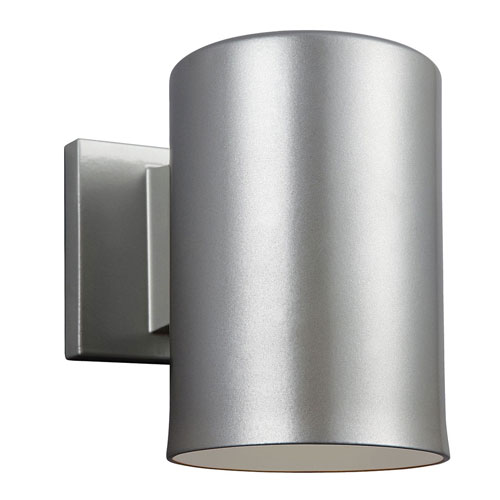 251 First Nicollet Brushed Nickel Seven-Inch One-Light Outdoor Wall Sconce
