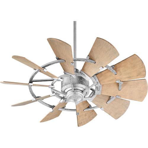 Somerset Galvanized 44-Inch Patio Fan
