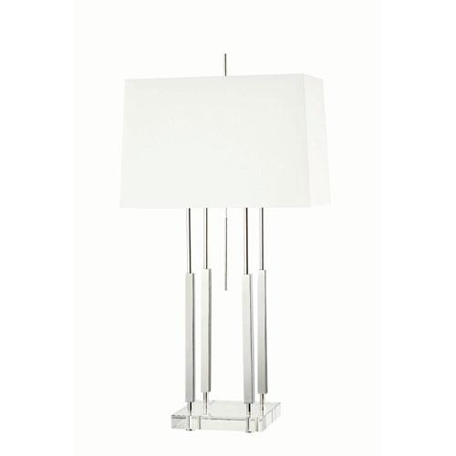 Gordon Polished Nickel One-Light Table Lamp