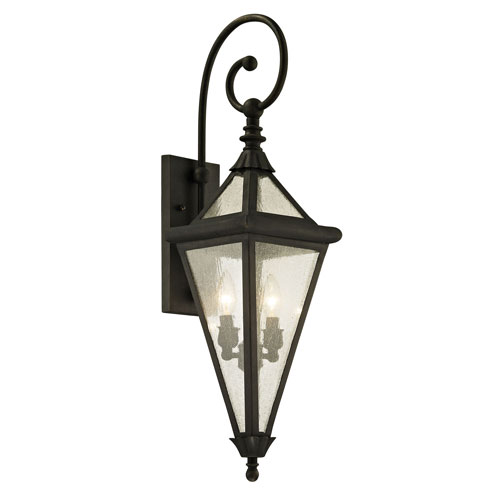 Mill & Mason Mitre Vintage Bronze Two-Light Outdoor Wall Sconce