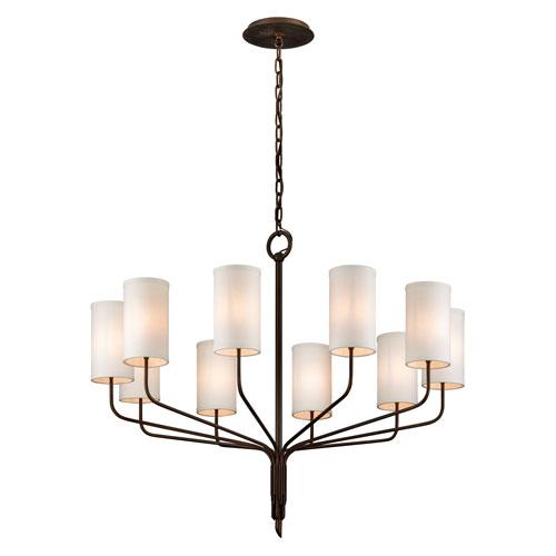 Tallulah Bronze 10-Light Chandelier