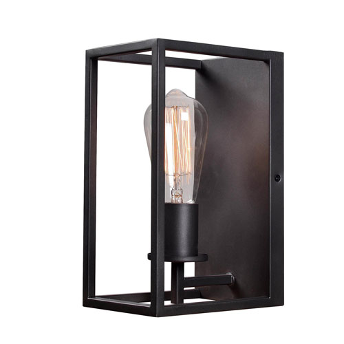 Fulton Graphite One-Light  Wall Sconce