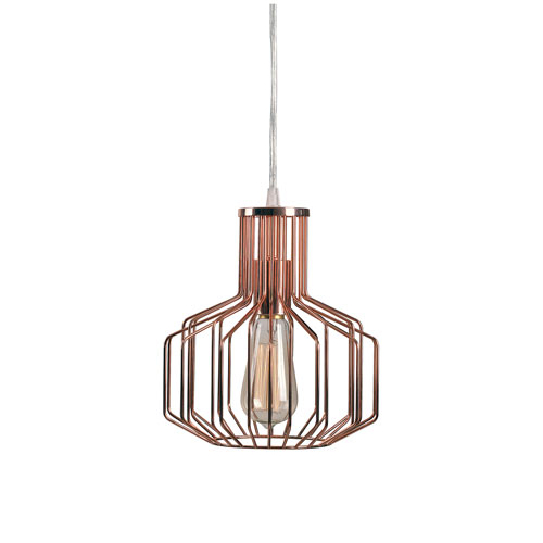 Nicollet Copper One-Light Mini Pendant