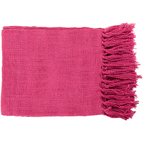 Nicollet Pink Throw