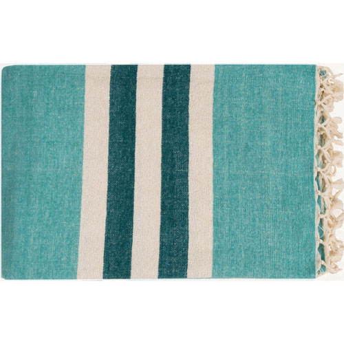 Selby Blue Throw