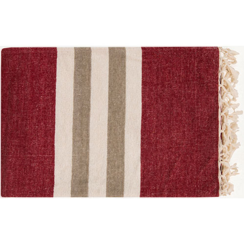 Selby Red Throw