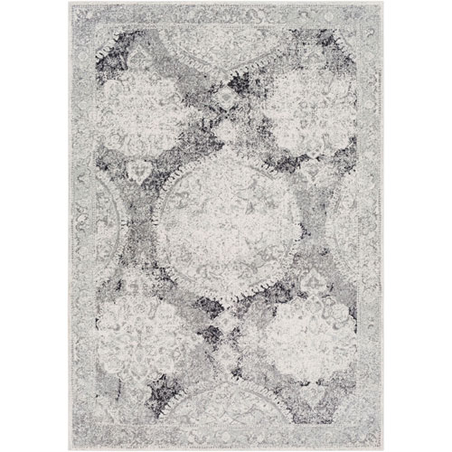 Selby Gray Rectangular: 3 Ft. 11 In. x 5 Ft. 7 In. Rug