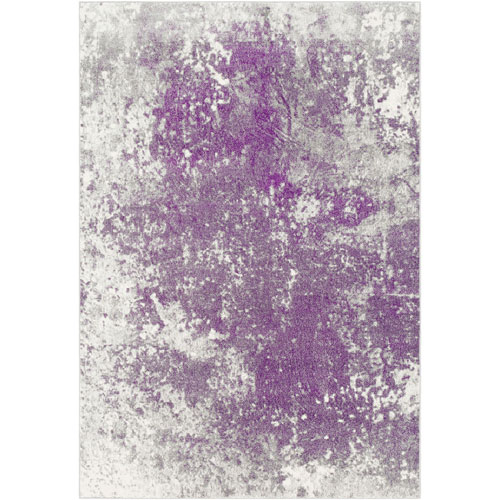 Vivian Purple Rectangular: 5 Ft. 2 In. x 7 Ft. 6 In. Rug