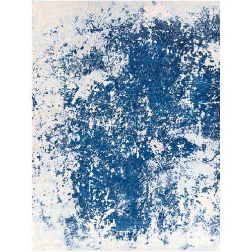 Vivian Blue Rectangular: 5 Ft. 2 In. x 7 Ft. 6 In. Rug