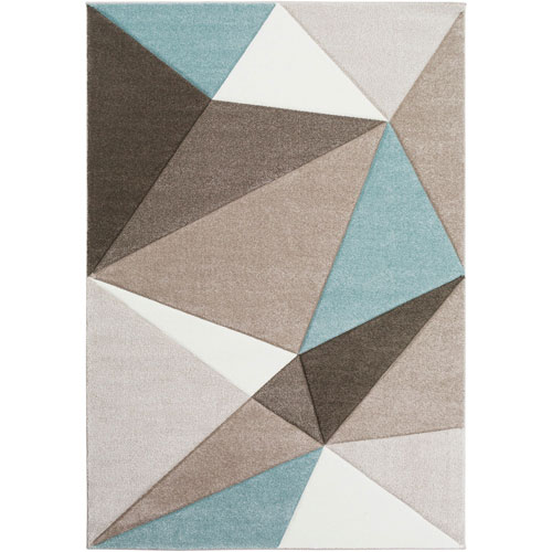 Uptown Neutral Rectangular: 5 Ft. 3 In. x 7 Ft. 6 In. Rug