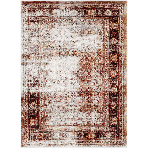Wellington Red Rectangular: 3 Ft. 11 In. x 5 Ft. 7 In. Rug