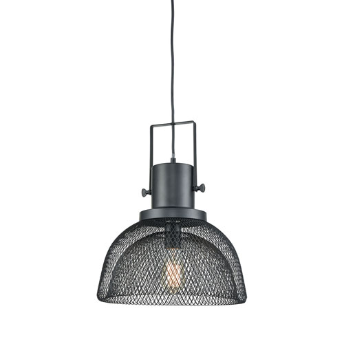 River Station Oil Rubbed Bronze 14-Inch One-Light Pendant