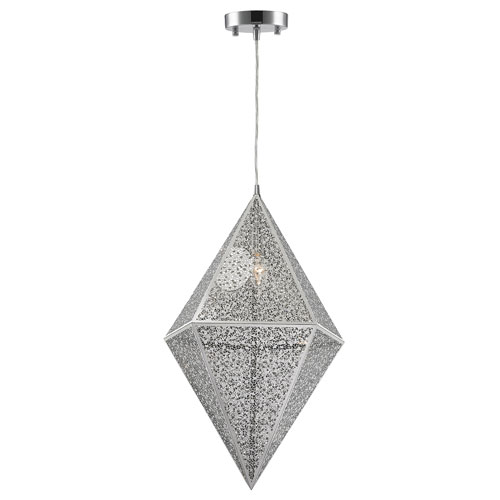 Uptown Chrome 14-Inch One-Light Pendant