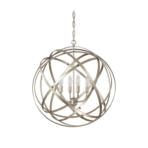 251 First Cooper Gold Four-Light Pendant