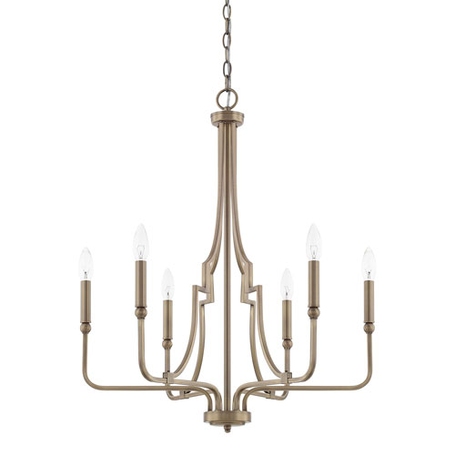 premium selection f6370 1ba92 Brass Antique Satin Transitional Chandeliers Free Shipping ...