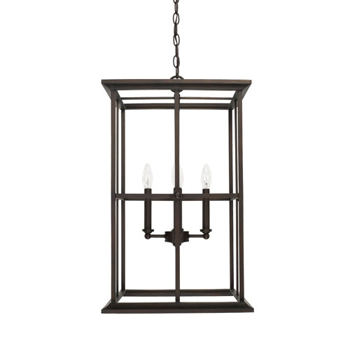 Kenwood Old Bronze 16-Inch Four-Light Pendant