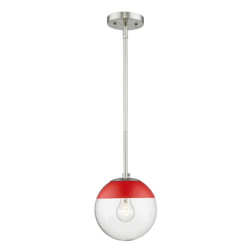 Nicollet Pewter One-Light Mini Pendant