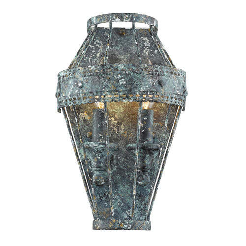 Hayden Patina Two-Light Sconce
