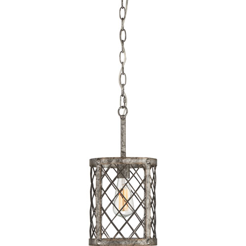 River Station Gold One-Light Mini Pendant