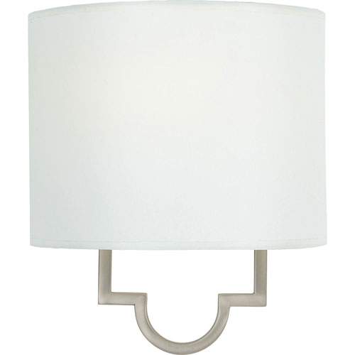 Linden Plated Pewter One-Light Wall Sconce
