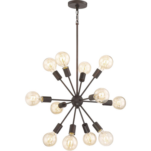Uptown Bronze 12-Light Pendant