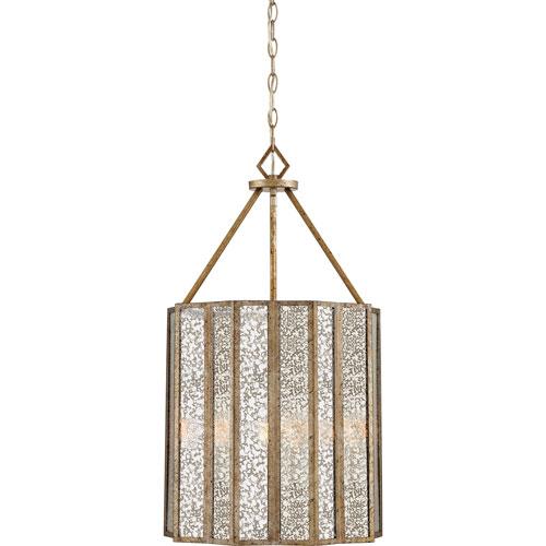 Cooper Gold Four-Light Pendant