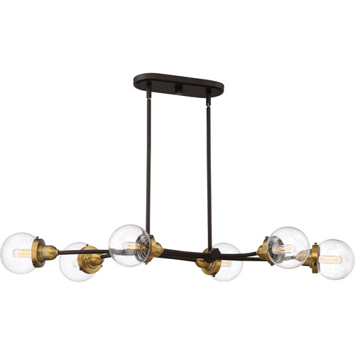 Nicollet Bronze Six-Light Pendant