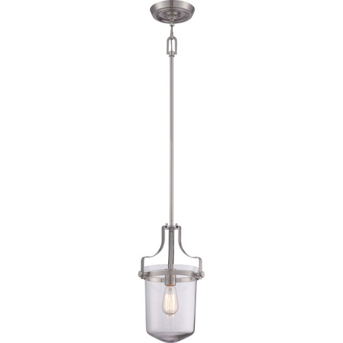 Selby Brushed Nickel One-Light Mini Pendant