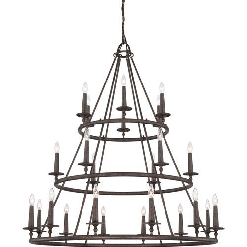 Selby Bronze 24-Light Chandelier