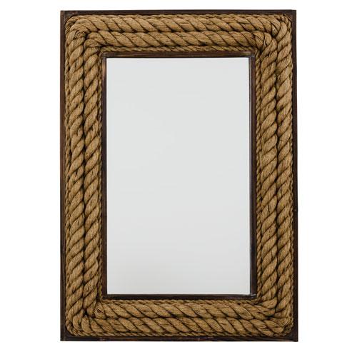 Hayden Rope Rectangular Mirror