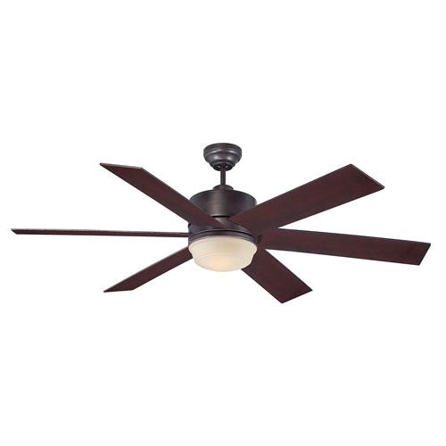 Afton Bronze 60-Inch One-Light Ceiling Fan