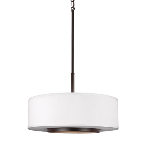Linden Bronze Three-Light Pendant