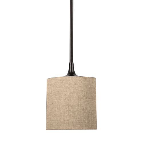Selby Black with Bronze Accents LED Mini Pendant