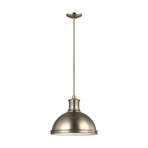 Afton Satin Bronze 16-Inch Three-Light Pendant