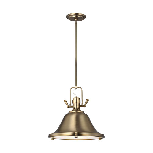 Afton Satin Bronze One-Light Pendant